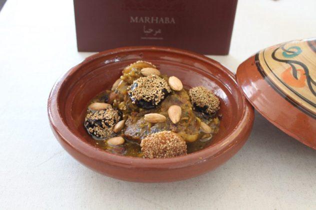 tajine de cordero del restaurante marhaba de almería