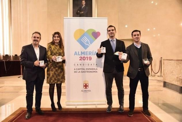 presentación candidatura almería capital española de la gastronomía