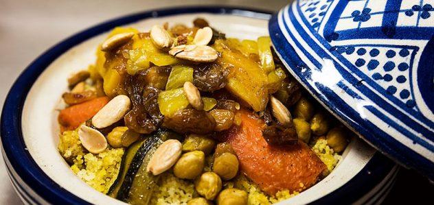 cuscus con verduras marhaba