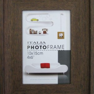 "P3-211 - 4"" X 6"" D. Brown Frame-0"
