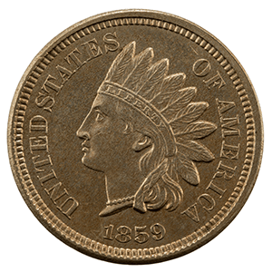 Indian Head Cent (1859 - 1909)