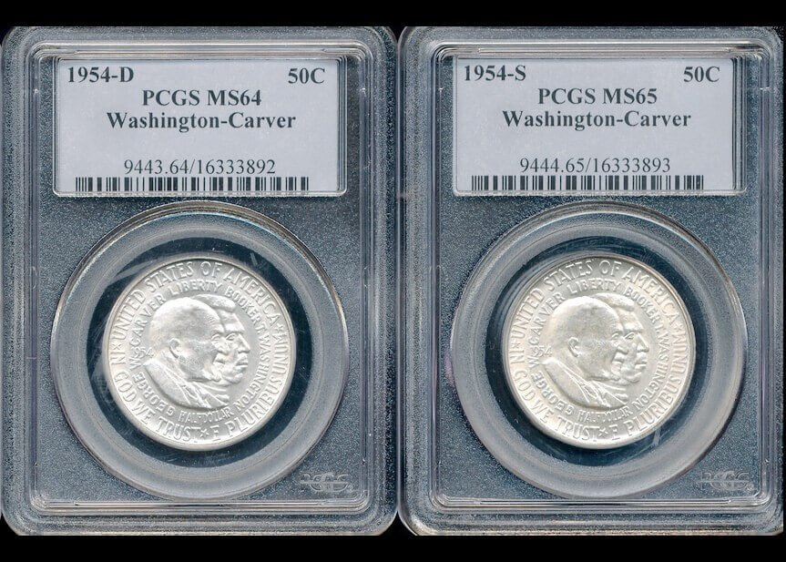 The difference between MS64 and MS65-graded coins.