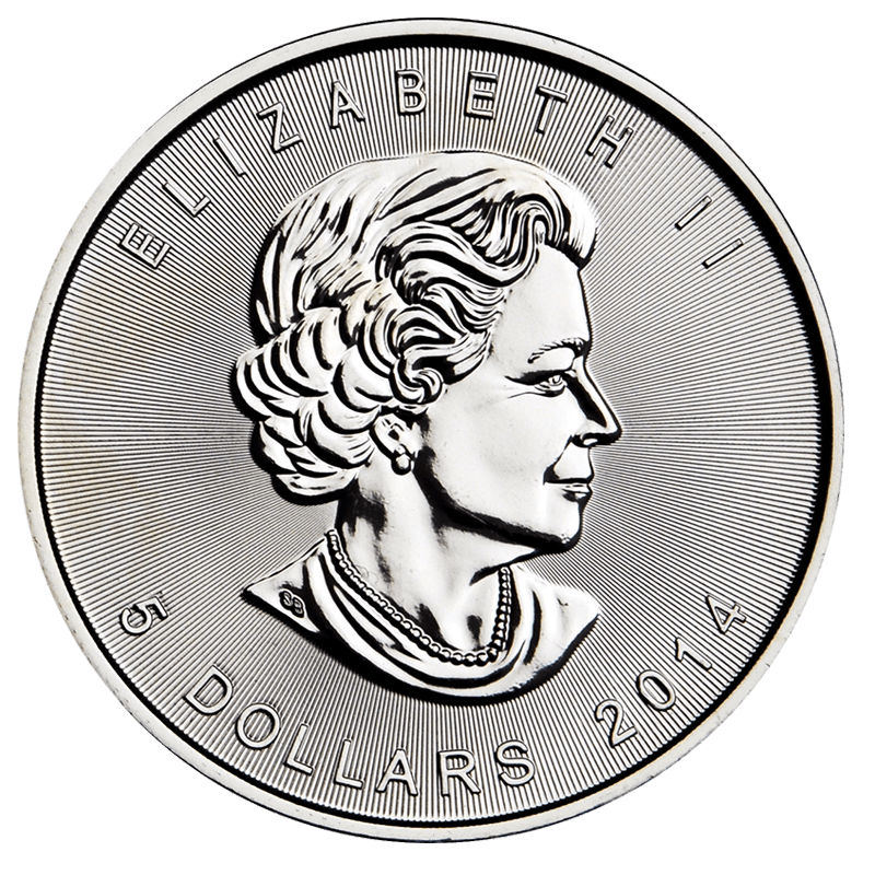 Canadian Maple Leaf Obverse