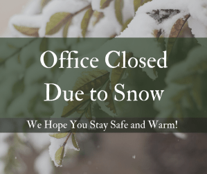 Office Closed Due to Snow (1)