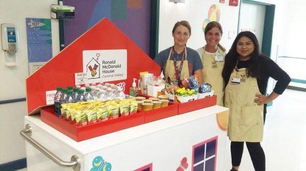 Volunteer - Ronald McDonald House - Valley Children's Hospital