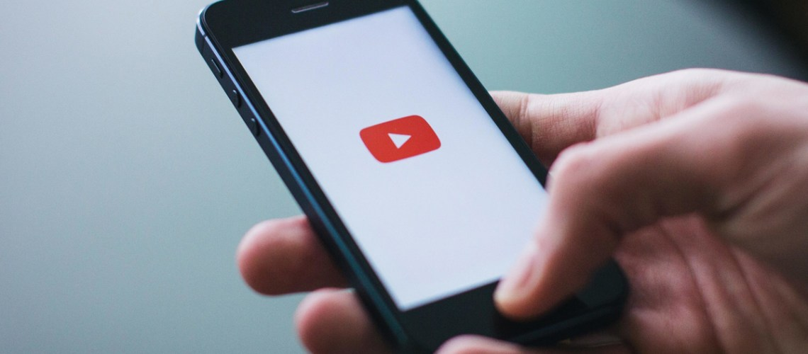 YouTube on a phone. R. Michael Brown Multimedia Producer