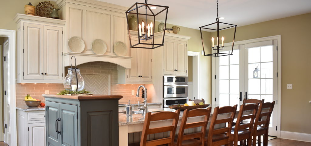 Traditional Kitchen Remodel With Custom Cabinets