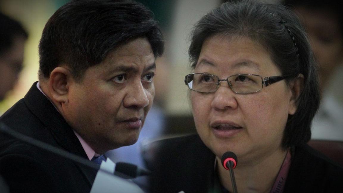 Pagkakadawit ni dating SOJ Vitalliano Aguirre sa pastillas