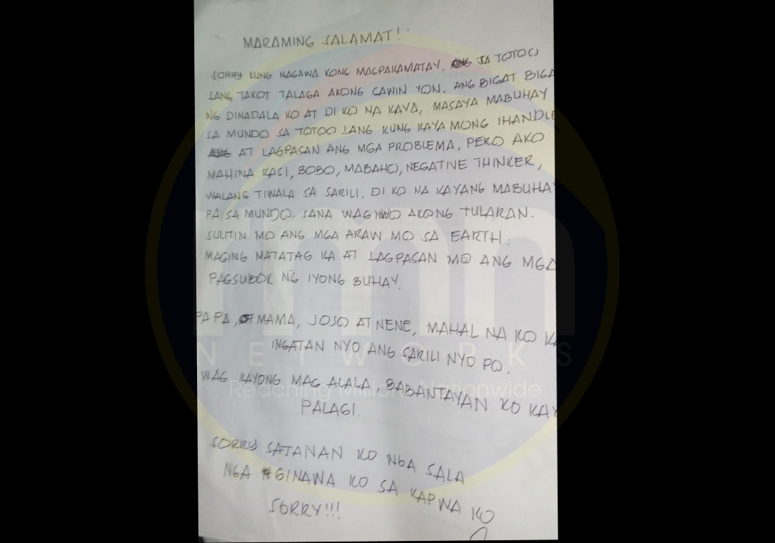 Panic As Man Drops Suicide Note On Twitter, Says Death Is