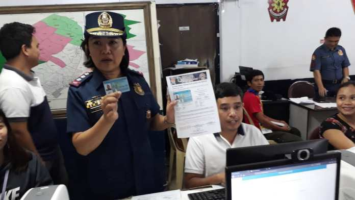 Hightech nga pagkuha og Police Clearance sa Cebu City