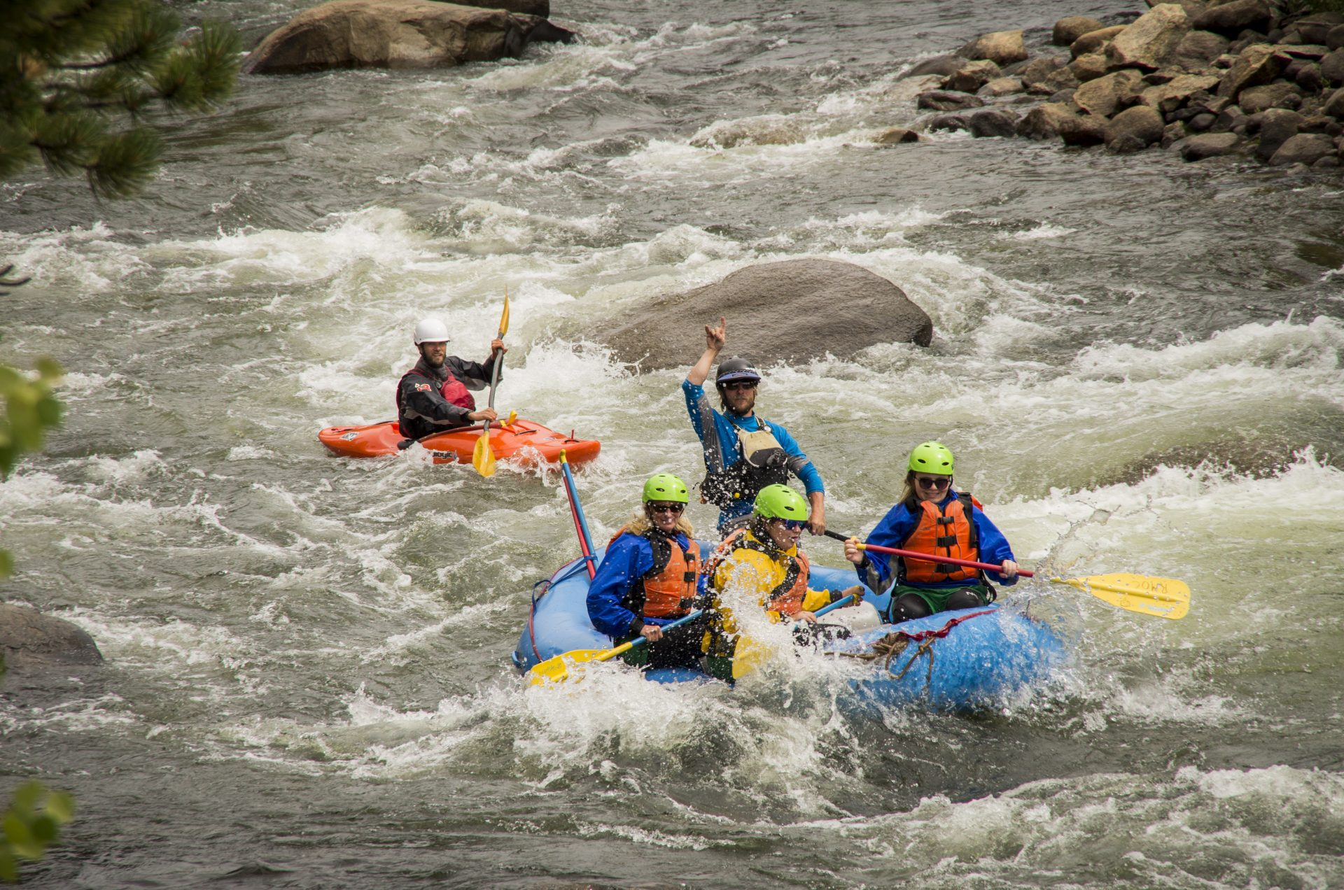 The Numbers Whitewater Rafting