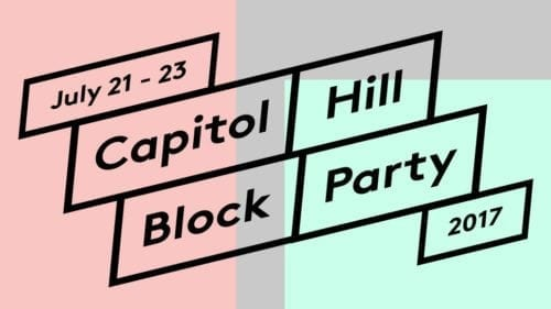What You Can & Cannot Bring To Cap Hill Block Party 2017