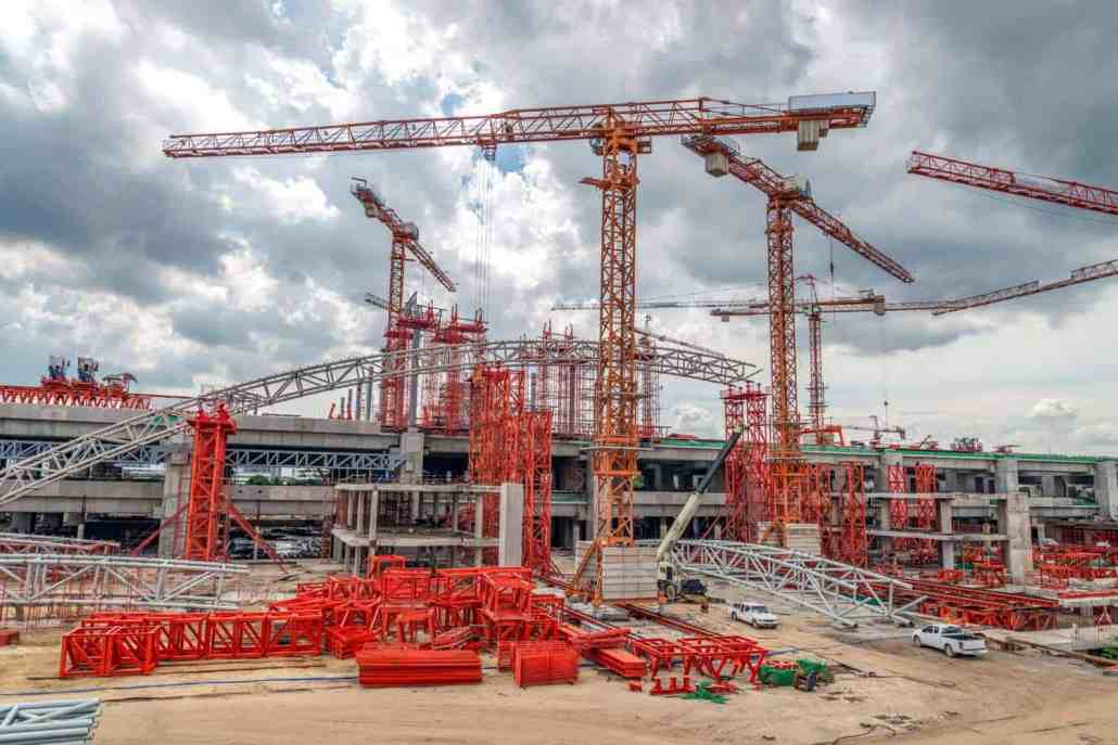 rms building and construction industry cranes