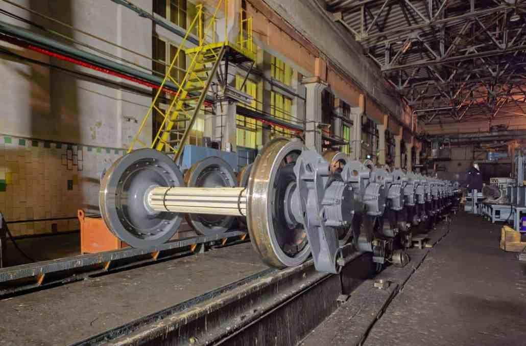 rms rail industry metro wheels