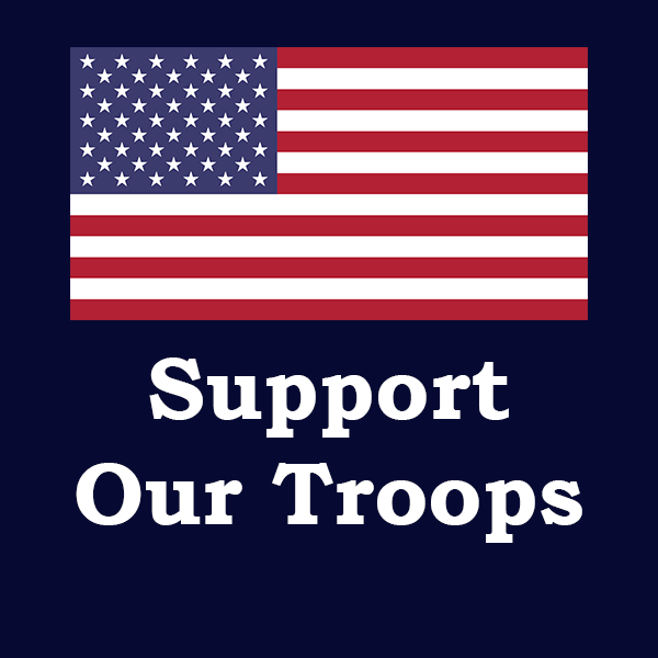usa supports our veterans and military troops