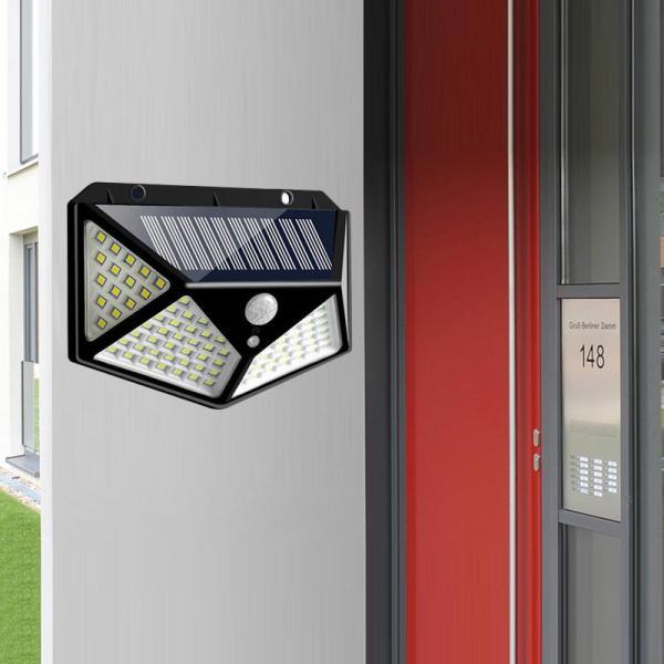 Solarni LED reflektor sa senzorom pokreta