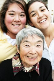A reverse mortgage provides for Mom's needs today