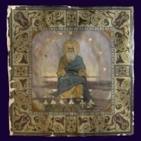 13. П.А. Сведомский, В.А. Котарбинский. Бог Отец. (Почил Господь в день седьмой). До реставрации.
