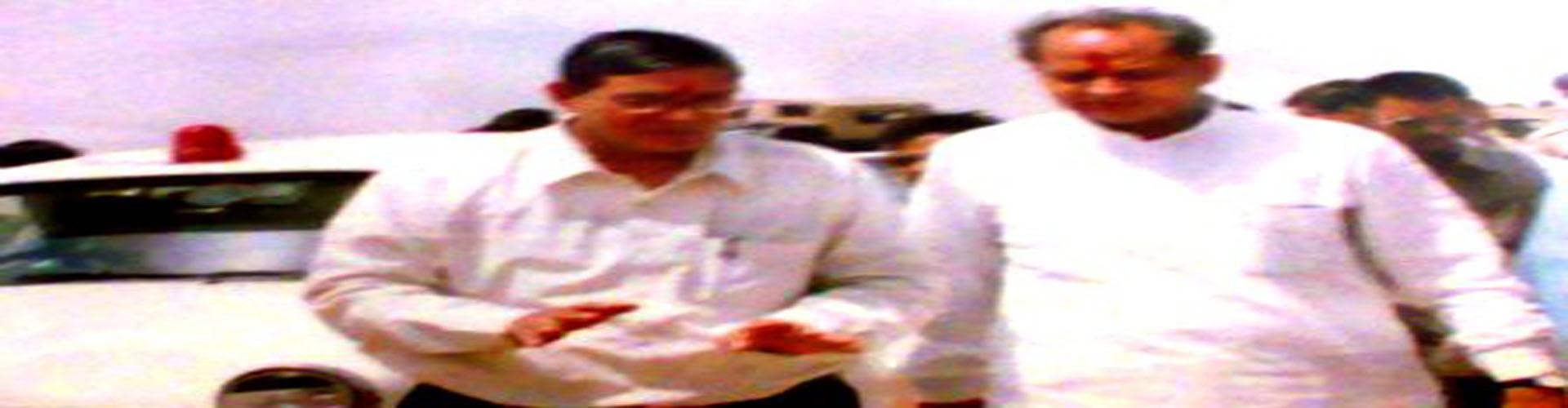 RN Arvind with former CM Shri Ashok Gehlot