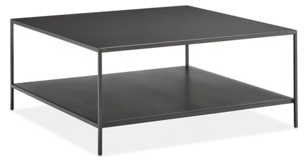 Slim Coffee Tables In Natural Steel Modern Coffee Tables Modern Living Room Furniture Room Board