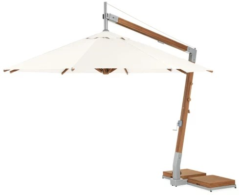 cumulo 12 patio umbrella with bamboo pole