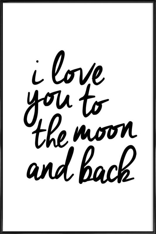 Download I Love You to the Moon and Back als Poster im ...