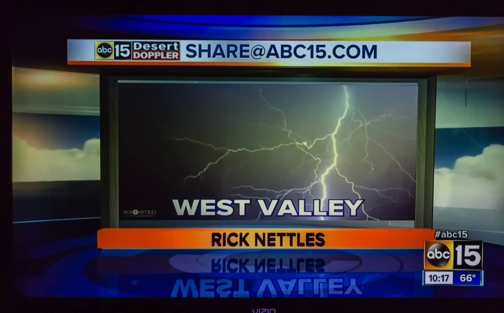 famous photographer, lightning photography, television, ABC News