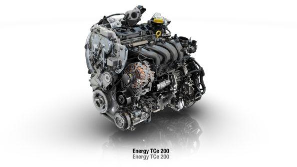 1.6TCe 200k (obrázek 205k verze není k dispozici, motor však bude vypadat stejně).