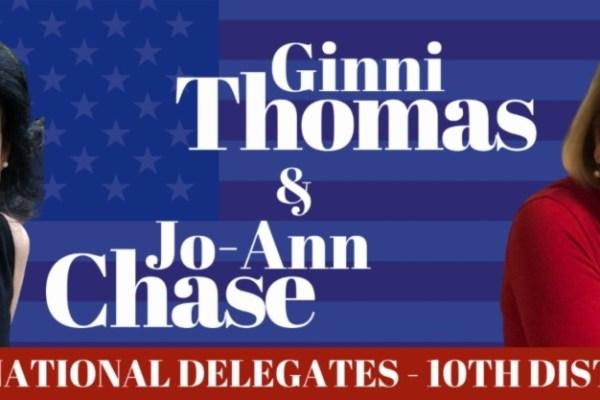 Johan Chase and Ginni Thomas