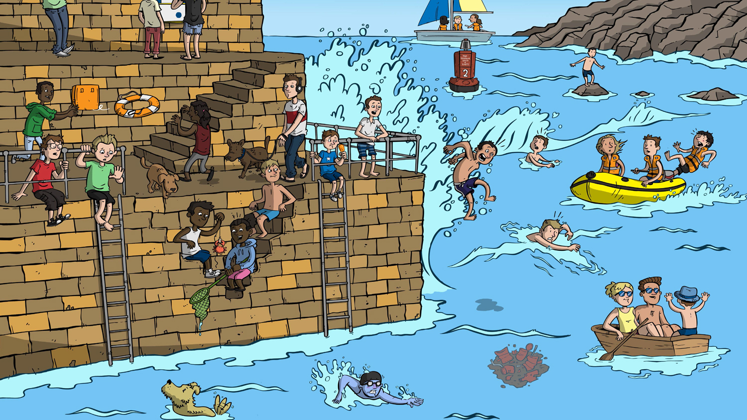 Water Safety Posters Ks2 K3lh Hse Indonesia