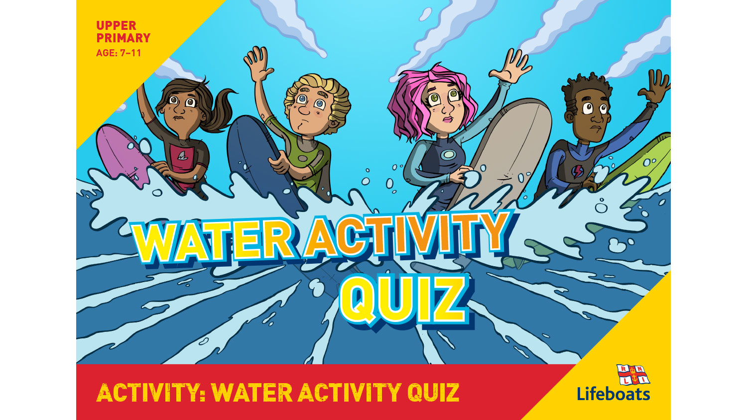 Rnli Water Safety Education Resource Water Activity Quiz