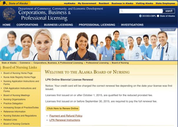 """""""Alaska board of nursing license lookup"""""""