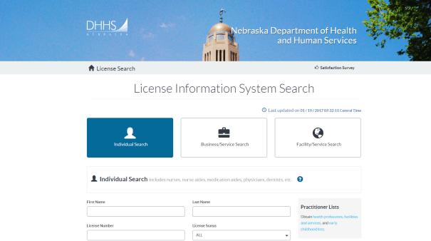RN License Lookup Nebraska