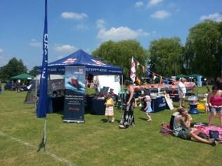 Fun in the sun at the Olney Raft race