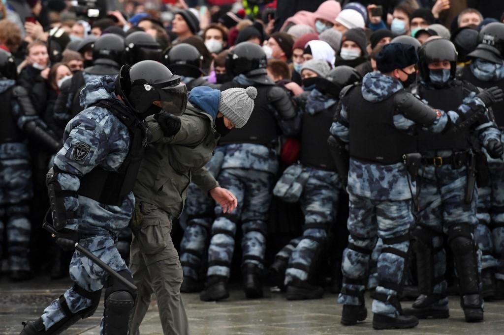 Foto: NATALIA KOLESNIKOVA / AFP.