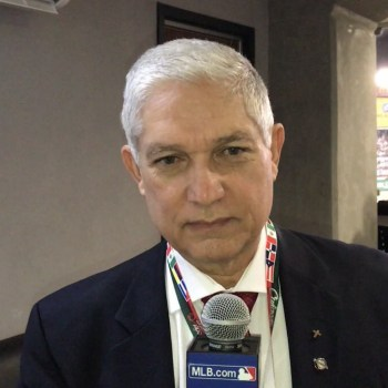 Comisionado de Béisbol del Caribe, Juan Francisco Puello Herrera.