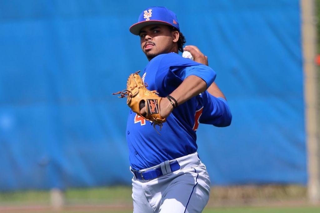 El derecho Harol González pertenece a los Mets de Nueva York.  (FOTO: Fuente Externa)