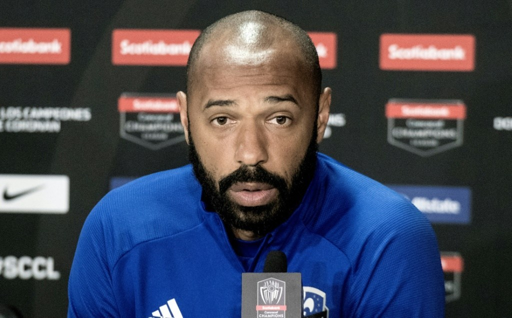 El entrenador francés Thierry Henrry (Foto: AFP)