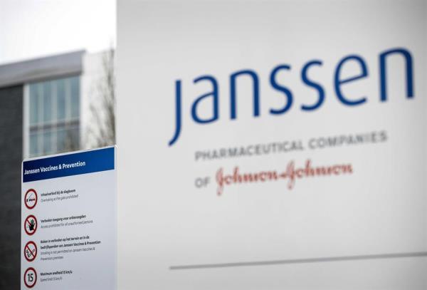 Exterior de la sede de la farmacéutica Janssen in Leiden, Paises Bajos. EFE/EPA/SEM VAN DER WAL/Archivo