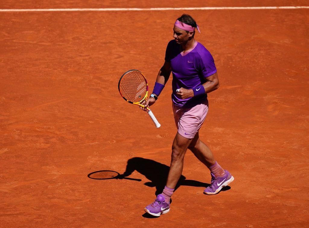 Rafael Nadal celebra su triunfo. (Foto: MutuaMadridOpen/Twitter)