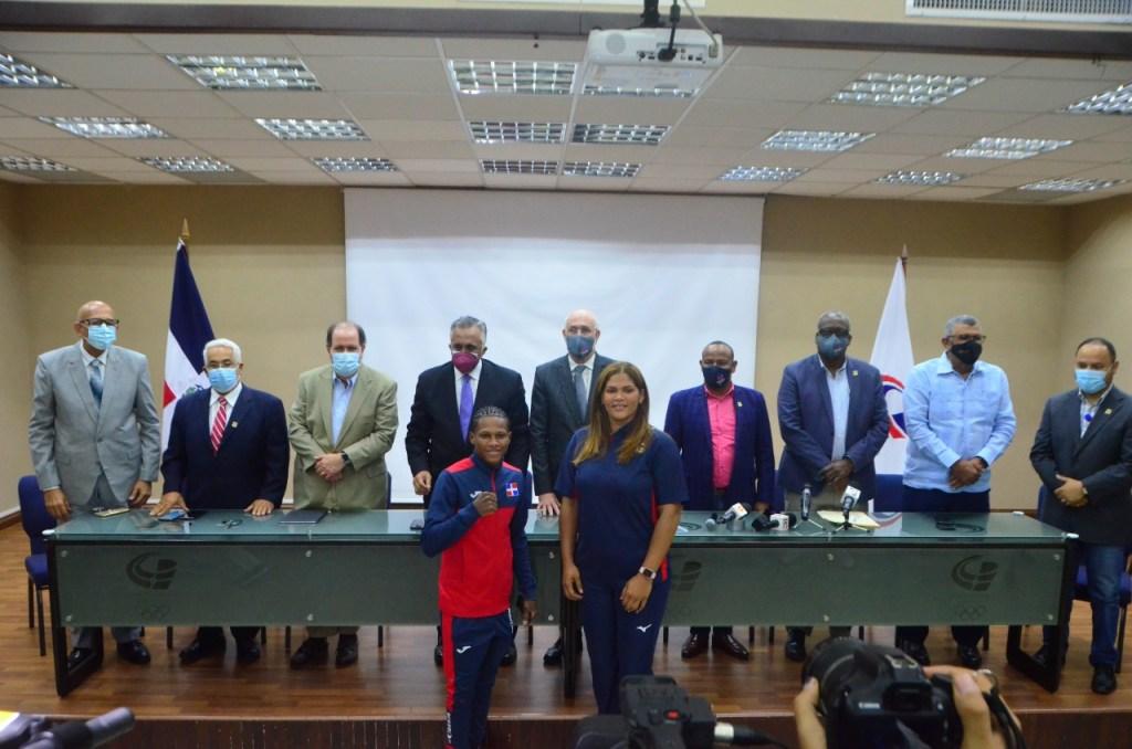 Comité Olímpico Dominicano anuncia que la volibolista Priscila Rivera y el boxeador Rodrigo Marte serán los abanderados de la delegación dominicana en los Juegos Olímpicos en Tokio, Japón.