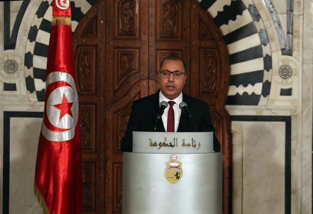Primer ministro tunecino, Hichem Mechichi. EFE
