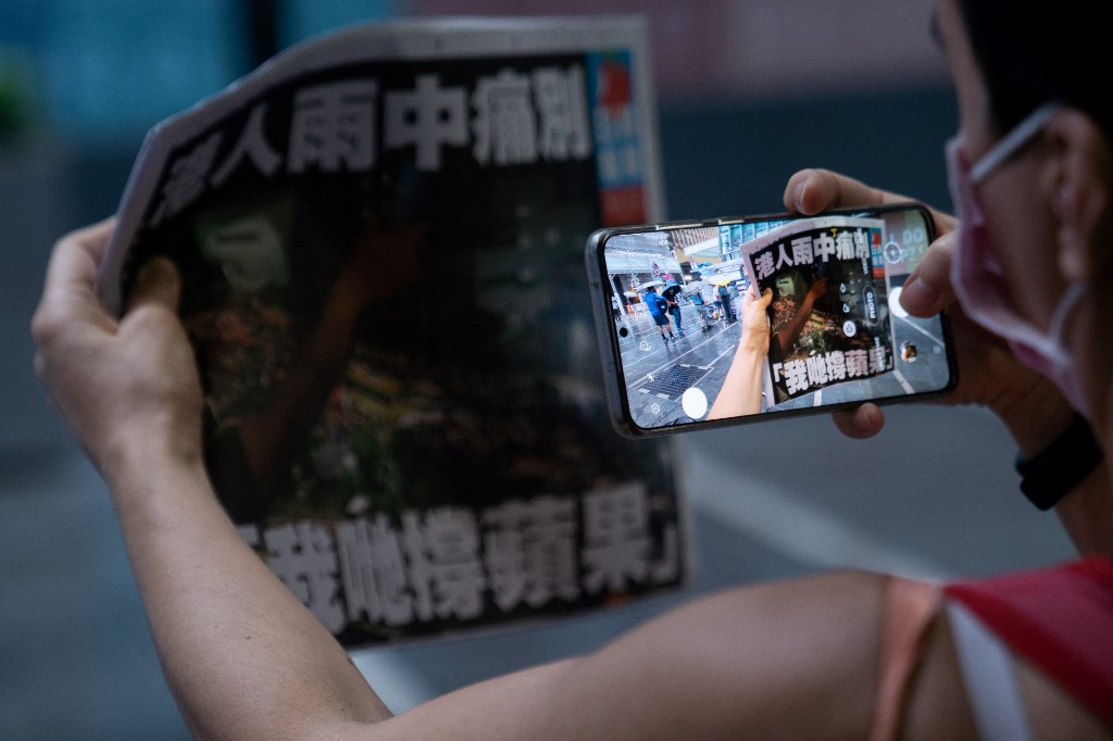 FILES-HONG KONG-CHINA-POLITICS-CENSORSHIP-INTERNET