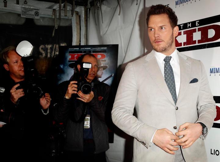 Imagen del archivo del actor Chris Pratt. EPA