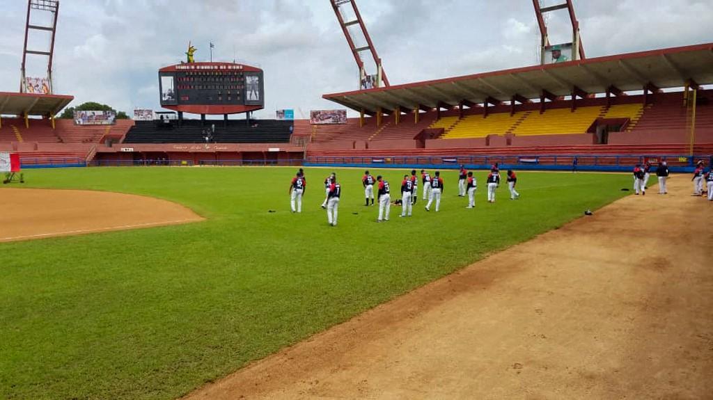 Estadio en Matanzas, Cuba.  (Foto: STRINGER / AFP)