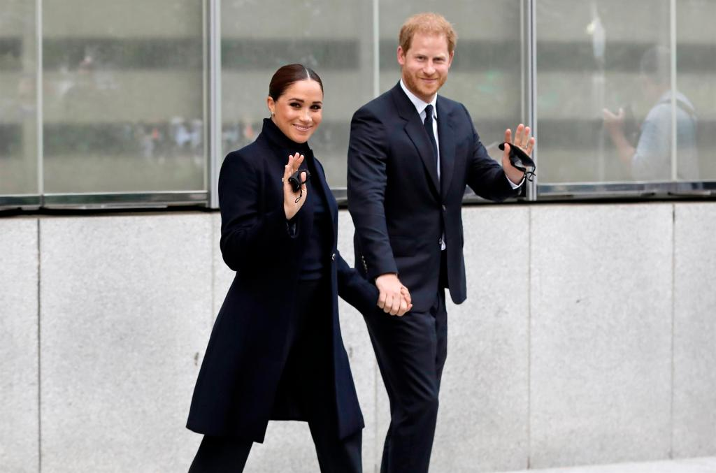 El príncipe Harry y Meghan Markle se reúnen con la vicesecretaria de la ONU