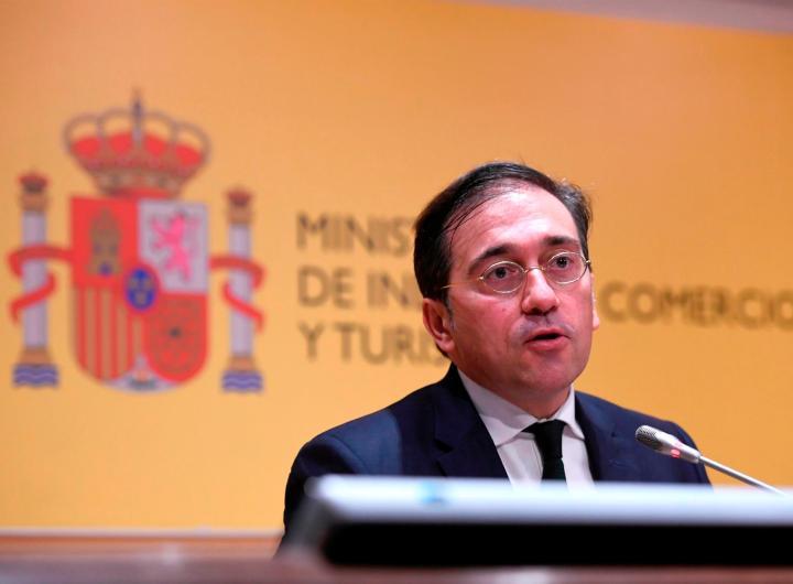 El ministro de Asuntos Exteriores de España, José Manuel Albares, en una fotografía de archivo. EFE