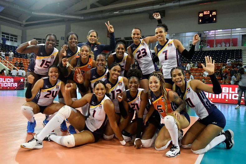 Las Reinas del Caribe celebran su cuarta victoria en este evento Panamericano Norceca.