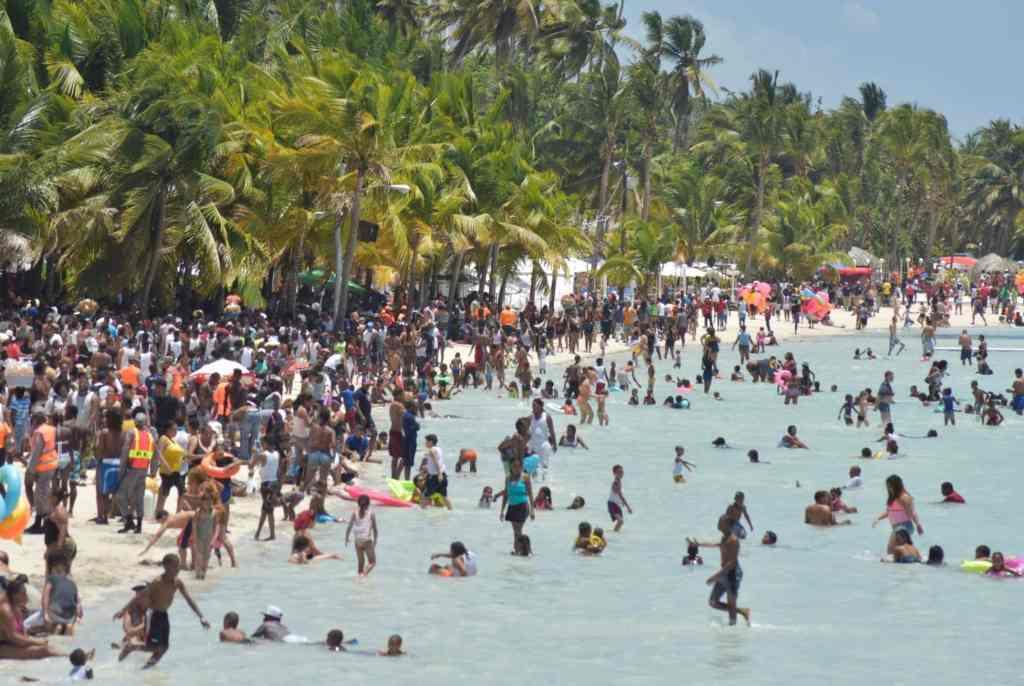 Playa Boca Chica.