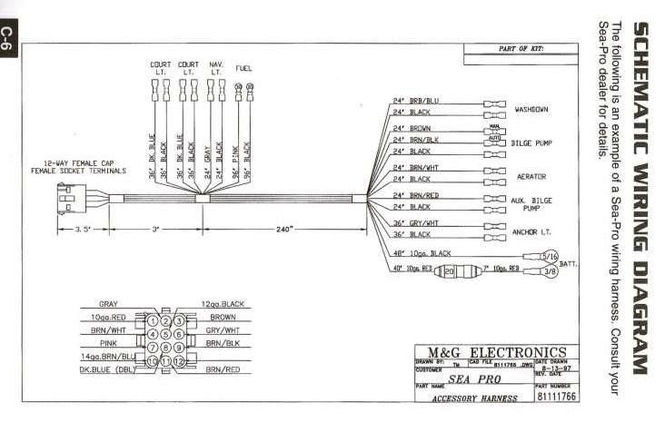 Sea Pro Wiring Schematic_1997aug13?resize=665%2C432 suzuki 140 outboard wiring diagrams wiring diagram  at fashall.co